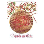 Personalized  Friendship Ornament Christmas Cards - Set of 20