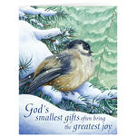 Personalized God's Smallest Gifts Christmas Cards - Set of 20