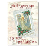 Personalized The More I Love Christmas Cards - Set of 20
