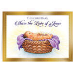 Personalized Share the Love of Jesus Christmas Card Set/20