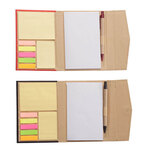 Memo Book with Sticky Notes - Set of 2