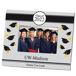 Personalized 2019 Tossed Cap Graduation Frame