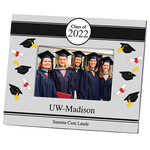 Personalized 2019 Tossed Scroll Graduation Frame