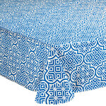 Mosaic PEVA Vinyl Table Cover