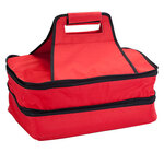Double Decker Insulated Food Travel Tote