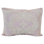 Florence Chenille Sham, Pink