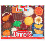 Melissa & Doug® Food Fun Combine & Dine Dinners - Red