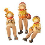 Scarecrow Shelf Sitters, Set of 3