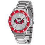 Men's NFL Sparo Key Silver Watch