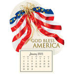 Mini Magnetic Calendar, Patriotic
