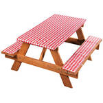 Deluxe Picnic Table Cover with Cushions