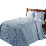 Trevor Chenille 3-pc. Bedding Set