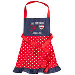 Personalized All American Girl Children's Apron