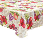 Harvest Fruit Vinyl Table Cover