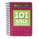 Brain Games® 101 Bible Word Searches