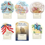 Mini Magnetic Calendars, Set of 6