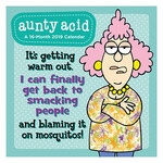 Aunty Acid Mini Wall Calendar