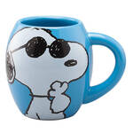 Peanuts 18 oz. Joe Cool Ceramic Mug