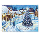 Christmas Glow Christmas Card Set of 20