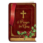Personalized Prayer Card Gift Christmas Cards, Set of 20