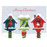 Personalized Festive Friends Christmas Cards, Set of 20