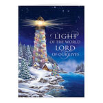 Personalized Light of the World Christmas Cards, Set of 20