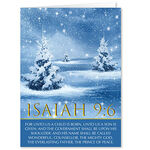 Personalized Isaiah 9:6 Christmas Cards, Set of 20