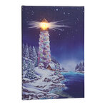 Light of the World Lighted Canvas by Northwoods Illuminations™