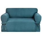 Kathy Ireland Evening Flannel Loveseat Slipcover