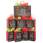 Merry and Bright 40 Pc. Gift Bag Set