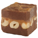 Carmel Chocolate Peanut Fudge