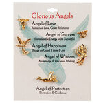 Glorious Angel Pins, Set of 5