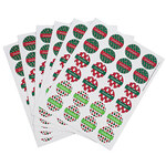 Personalized Holiday Stickers, Set of 144