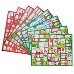 400 Holiday Gift Stickers