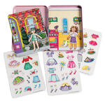 Tea Party Magnetic Dress-Up Tin