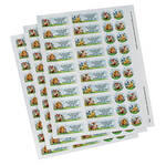 Personalized Baby Animals Labels & Seals 60