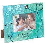 Personalized Nursing Word Art Photo Frame