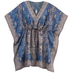 Short Drawstring Caftan by Sawyer Creek Studio