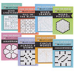 Brain Games® Lower Your Brain Age Books, Set of 8