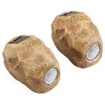 Rock Solar Lights Set of 2