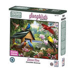 Song Birds Dinner Time Puzzle, 550 pieces