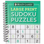 Brain Games® Large Print Sudoku Puzzles