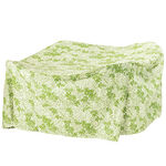 Leaf Pattern Quilted Table Cover, Round