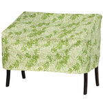 Leaf Pattern Quilted Lounge Cover