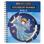 Brain Games™ Sticker by Number Bible Book