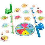 Catch a Fish Counting Game with Wood Rod and Magnets