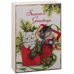 Mini Vintage Christmas Signs