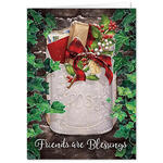 Personalized Friendship Blessings Christmas Card Set of 20