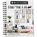Brain Games®: Find the Cat Puzzle Book
