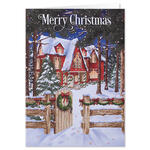Personalized Home for the Holidays Christmas Card Set of 20
